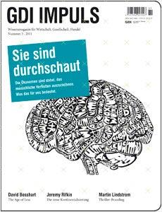 Ernst Fehr und Gerhard Fehr in der aktuellen Ausgabe von GDI IMPULS