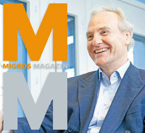 """""""Martin Luther der Ökonomie"""" – Interview mit Ernst Fehr im Migros-Magazin"""