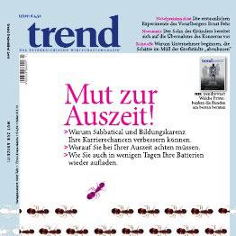 """Ernst Fehr im Wirtschaftsmagazin """"trend"""": """"EZB-Intervention zur Euro-Stabilisierung ein hervorragender Vorschlag"""""""