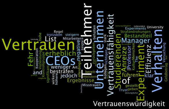 BEA™ Incentives & Motivation: Vertrauen ist die Grundlage einer gewinnbringenden Unternehmenskultur – zum Wohle aller Stakeholder