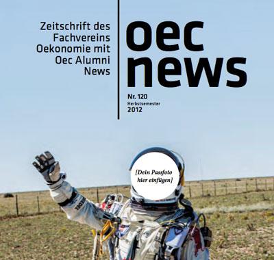 "Alain Kamm in oec news: ""Bei FehrAdvice ist kein Tag wie der andere"""