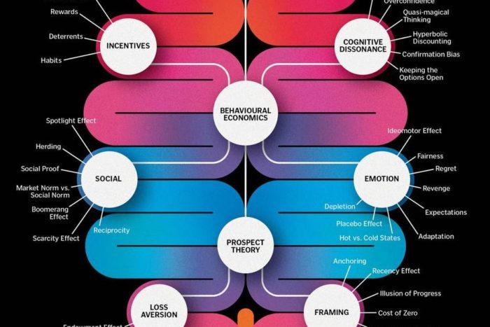 Infografik: Wo Behavioral Economics in unserem Gehirn wirken