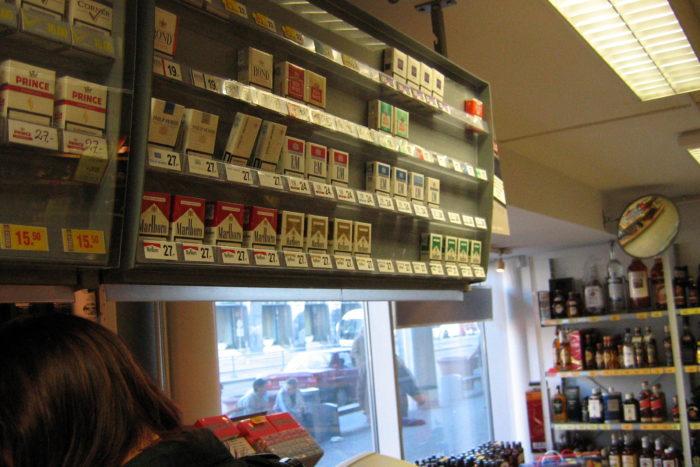 Tabakverkauf am Point of Sale: Aus den Augen, aus dem Sinn?