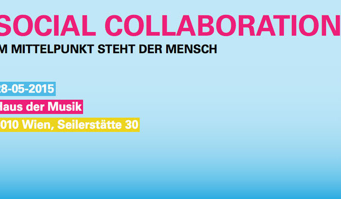 28.5.2015: Social Collaboration – Keynote von Marcus Veit, Managing Partner von FehrAdvice & Partners AG