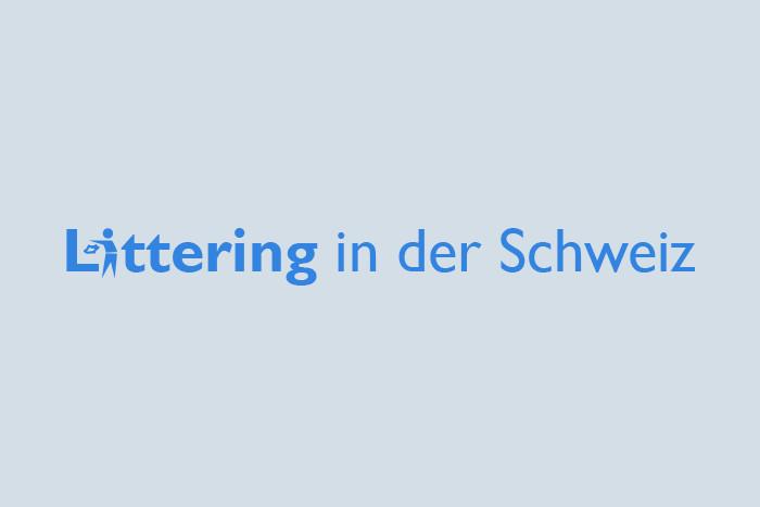 "Studie ""Littering in der Schweiz"""