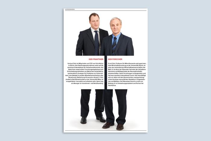 """""""Wir müssen genau analysieren"""" / Interview mit Ernst & Gerhard Fehr"""