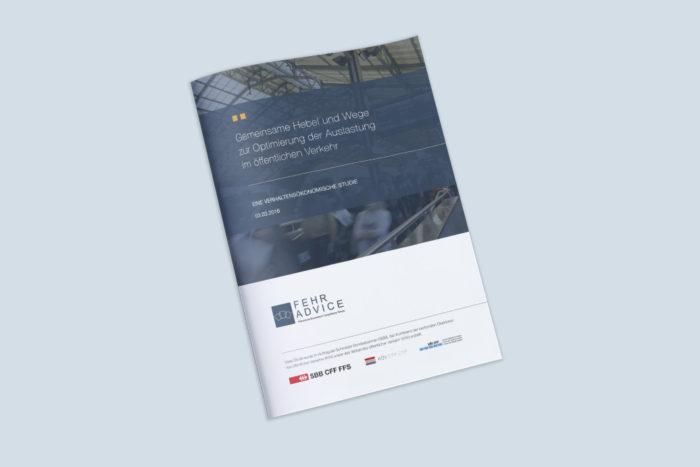 """Studie: """"Gemeinsame Hebel und Wege zur Optimierung der Auslastung im öffentlichen Verkehr"""""""
