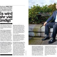 """Interview mit Ernst Fehr im österreichischen Magazin """"Trend"""": """"Es wird sehr viel gesündigt"""""""