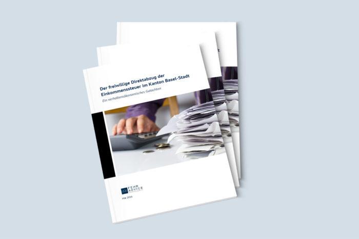 Gutachten von FehrAdvice zu den verhaltensökonomischen Implikationen eines «Automatisierten Freiwilligen Direktabzugs der Steuern» vom Lohn
