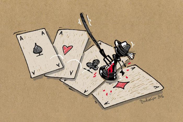 Teste deine Pokerskills