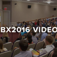 Videos von der BX2016 Behavioral Exchange Conference in Harvard