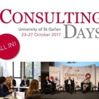 """Noch bis 27. Oktober: FehrAdvice bei den """"Consulting Days"""" der Universität St. Gallen"""