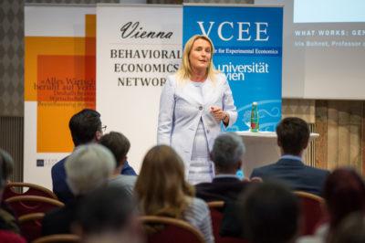 Iris Bohnet zu Gast in Wien: Wie Verhaltensdesign die Gleichstellung revolutionieren kann
