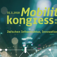 Save the date: «Mobilitätskongress 2018» am 31.1.2018