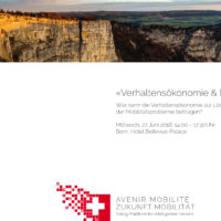 Rückblick auf den Forumsanlass «Verhaltensökonomie & Mobilität»