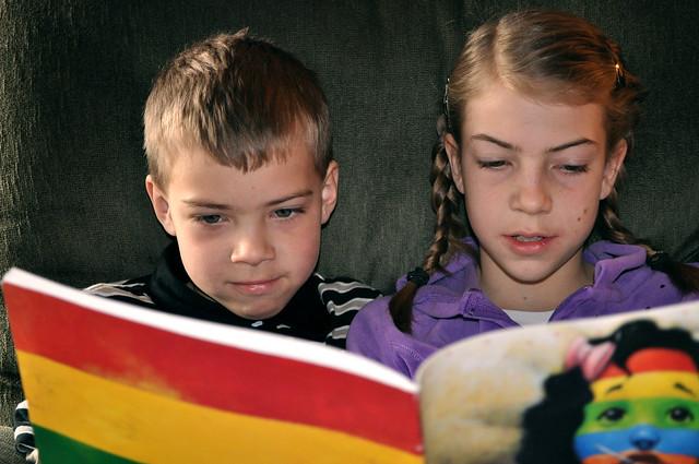 Behavioral Insights: Wie man Kinder zum regelmässigen Lesen bringt