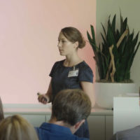 Anja Linnenbürger bei der Behavioral Economics Summer Schooll